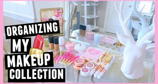 ORGANIZING MY MAKEUP COLLECTION!