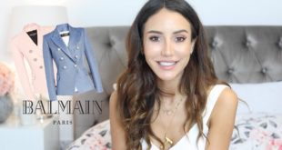 My Balmain Blazer Collection and Review | Tamara Kalinic