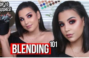 TOP 10 MAKEUP BRUSHES FOR BLENDING EYESHADOW! | HOW TO BLEND EYESHADOW LIKE A PRO 2018!