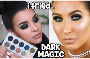 I Tried Following A Jaclyn Hill Dark Magic Makeup Tutorial | Morphe X Jaclyn Hill The Vault