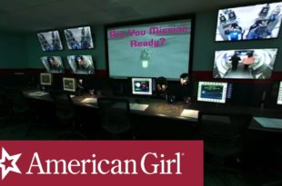 Luciana Vega's 360 Space Camp Tour of Mission Control | American Girl