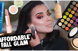 AFFORDABLE FALL MAKEUP TUTORIAL: MORPHE 35M PALETTE + GLOSSY LIPS! | MakeupByAmarie