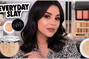 MY GO-TO EVERYDAY 'GLAM' MAKEUP LOOK: EVERYDAY MAKEUP ROUTINE!   MakeupByAmarie