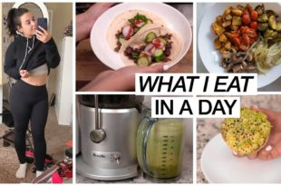 WHAT I EAT IN A DAY TO LOSE WEIGHT 2019! | MakeupByAmarie