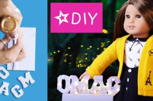 Marquee Lights for your Doll | Easy DIY | American Girl