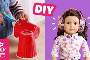 How to Make Adorable Headphones for Your Doll | Doll DIY | American Girl