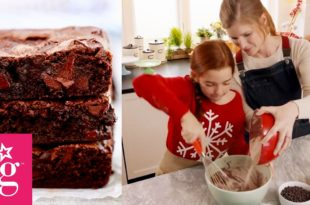 Blaire Wilson's Farm-to-Table Recipes | Dairy-Free Chocolate Chip Brownies | American Girl