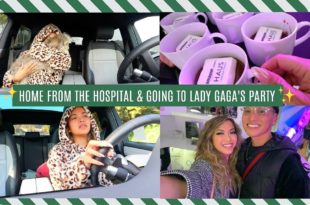 Home From The Hospital & Going To Lady Gaga's Party | Vlogmas Day 6