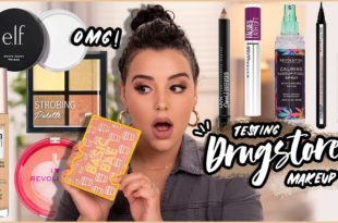 Testing New Drugstore Makeup Products 2020!