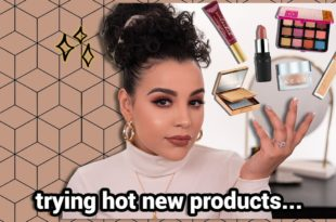 Trying Hot New Products